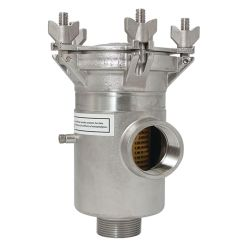 Arctic Steel Raw Water Strainers