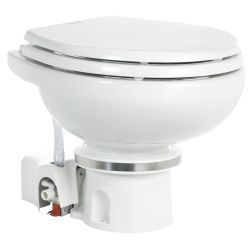 Orbit 7100 MasterFlush Macerator Electric Marine Toilet - with Household Bowl