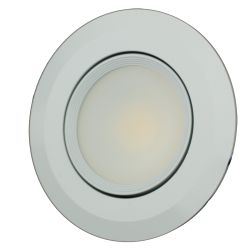 """No Longer Available: 3-1/2"""" Recessed COB LED Light - with Swivel Lens"""