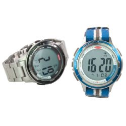 Clear Start Stainless Steel Sailing Watch