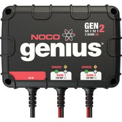 Genius Mini On-board Battery Charger - 8A