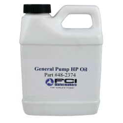 High Pressure Pump Oil for FCI Max-Q+ Watermakers