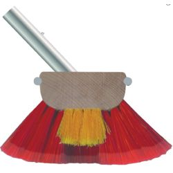 Combo Soft & Medium 6 in Deck Brush