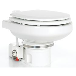 Orbit 7200 MasterFlush Macerator Electric Marine Toilet - with Compact Marine Bowl
