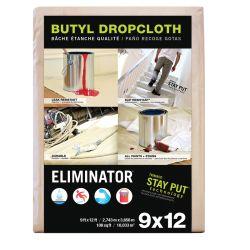 """""""Eliminator"""" Heavy Duty Coated Dropcloth"""