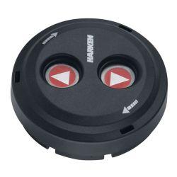 Digital Black Waterproof Switches - Dual-Function