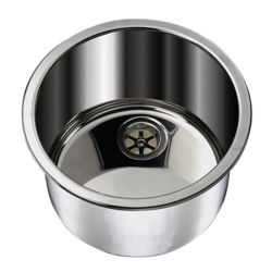 Cylinder Sink - Mirror SSt Without Mounting Studs