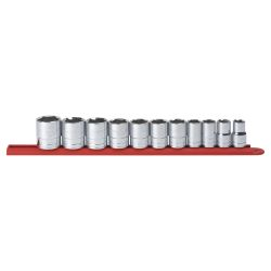 1/2 in Drive 6 Point SAE Socket Set