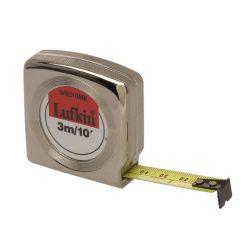 Lufkin Mezurall Pocket Tape - 1/2 in x 10 ft