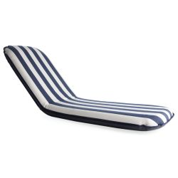 Classic Large Comfort Seat - Blue & White Stripes