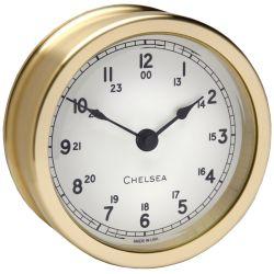Voyager Clock - Brass