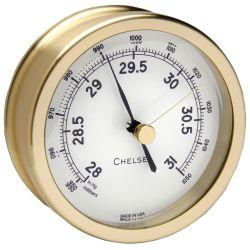 Voyager Barometer - Brass