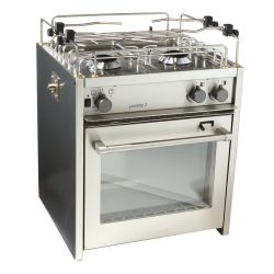 "18"" Levante 3-Burner Compact Marine Gas Stoves"