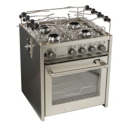 "18"" Levante 4-Burner Compact Marine Gas Stoves"
