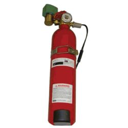 Gas Cylinder Actuator - for Pneumatic Controlled Marine Engine Room Fire Dampers