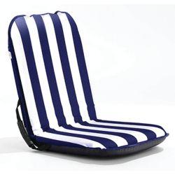 Classic Comfort Seat - Blue w/White Stripes