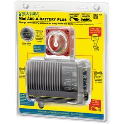 Blue Sea Systems Mini Add-A-Battery Plus Kit - 10A