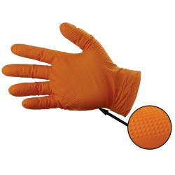 Gloveworks HD Orange Powder-Free Nitrile Gloves - 8 Mil
