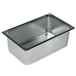 Gastronorm Stainless Steel Collander Draining Baskets - Multiple Sizes