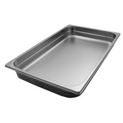 Gastronorm GN1/1 Size SS Baking/Roasting Dishes - for OceanChef XL Stoves