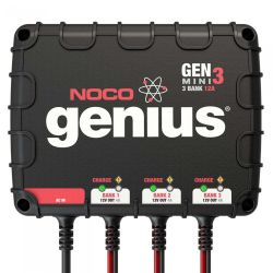 NOCO GEN3 Mini Onboard Battery Charger - 12V, 3 Banks, 4 Amps per Bank