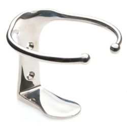 Stainless Single Drink Holder - Vertical Mount