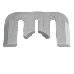 Mercury Bravo E-Plate Replacement Anode - Zinc