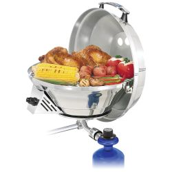 Marine Kettle 3 Combo Stove & Gas Grill - 15 in