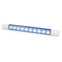 Hella 1.5W Courtesy LED Surface Mount Strip Lamp - Blue LED