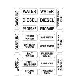 Nash No. 208 Tank Labels