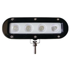 Kevin X4 LED Spreader & Spot Light - Black