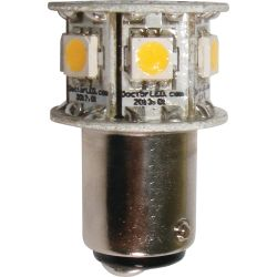 Blue Hex GE90 Star Double Contact Bayonet Bulb