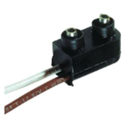 Discontinued: 2-Pin Male Plug Connector for Mini Sidemarker / Clearance Light