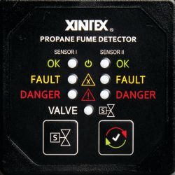 Propane Fume Detector Two Channel