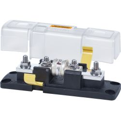 Class T Fuse Block with Insulating Cover - 110 to 200A