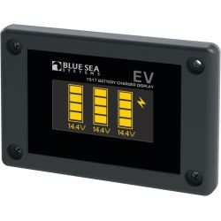 EV Battery Charger OLED Display