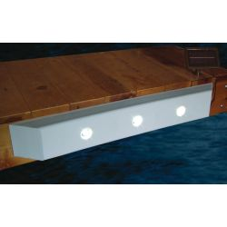 Taylor Made Dock Cushion w/ 3 Solar LED Lights