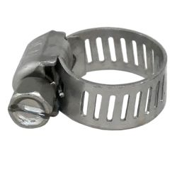 "300 SS ""Mini"" General Purpose Marine Hose Clamps - Hy-Gear Clamps"