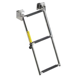 Garelick Telescoping Transom Ladder, 3-Steps