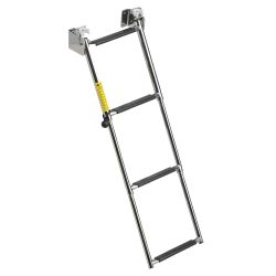 Garelick Telescoping Transom Ladder, 4-Steps