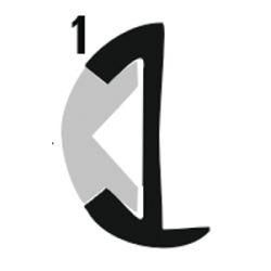 ALUM INSERT RUB RAIL 1 1/8IN X 12FT