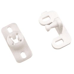 PLASTIC DOOR CATCH *SET OF 4*