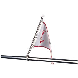 STAINLESS PULPIT FLAG POLE 15-1/2IN
