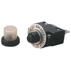 Thermal AC/DC Push-Button Re-Set Circuit Breaker