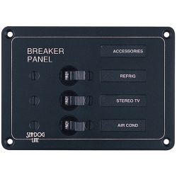 BREAKER PANEL-AC/DC 3 CIRCUIT