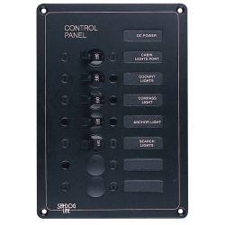 AC/DC Accessory Panel 7 Circuit