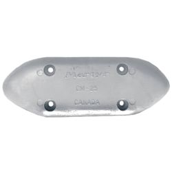 ZINC SM HULL ANODE 9-1/4X3-3/8X3/4IN