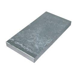 ZINC PLATE 6X3X1/2IN