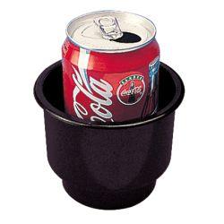 FLUSH MOUNT DRINK HOLDER-COMBO BLK