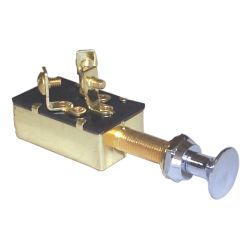 3 Screw Terminals Off-On 1-On 1+2 Push Pull Switch